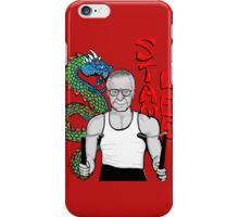 "stan ""the dragon"" lee iPhone Case/Skin"