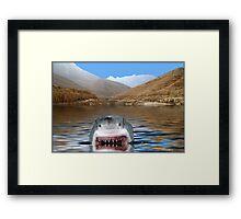 NA716-Jaws Framed Print