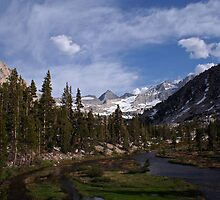 Forester Pass Seen from the North by Chase Ankeny