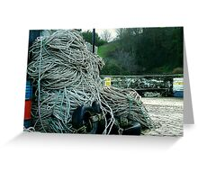 Fishermans Knot  Greeting Card