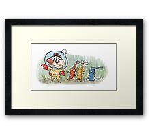 Pikmin Framed Print