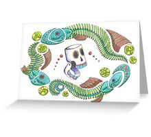 Pescados Party Greeting Card