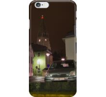 Reykjavik by Night iPhone Case/Skin