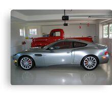 Fine Garage Canvas Print