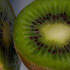 Fresh kiwi by Julie M Gibson
