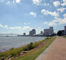 New Orleans Riverwalk by AcadianaGal