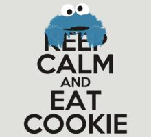 Keep Calm and Eat Cookie by Zahaidies