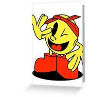 2Pac-man Greeting Card