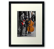 the sound of saturday skiffle Framed Print