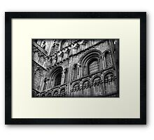Urban gothic: Ely Cathedral  Framed Print