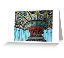 Mother Ship Lands - Point Pleasant Greeting Card