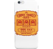 Bonus Chance Slots iPhone Case/Skin