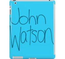 Dr. John H. Watson iPad Case/Skin