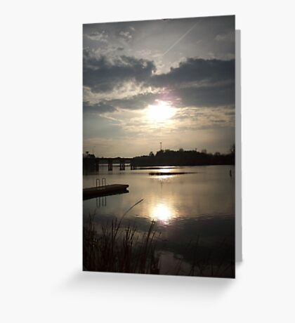 Evening Comes Greeting Card