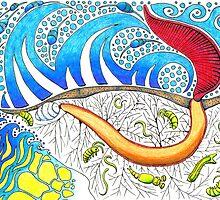 Sea Worm by JohnMeszaros