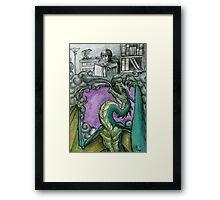 Dragon Book Framed Print