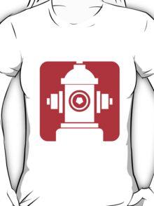 FIRE HIDRANT PICTOGRAM  T-Shirt