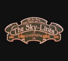 BioShock Infinite – The Sky-Lines of Columbia Sign by PonchTheOwl