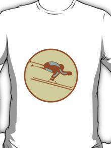 DOWNHILL SKI WINTER T-Shirt