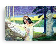Owldancer Canvas Print