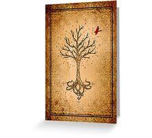 Sacred Tree Greeting Card