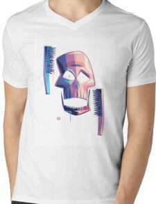 Exfoliate (sans-wordage) Mens V-Neck T-Shirt