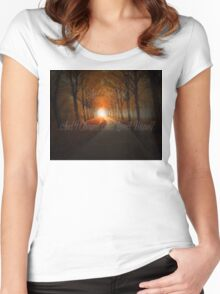 """""""Love Your Enemy"""" - Kahlil Gibran Women's Fitted Scoop T-Shirt"""