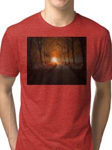 """Love Your Enemy"" - Kahlil Gibran Tri-blend T-Shirt"