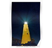 Ocracoke Light Poster
