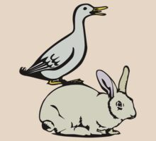 RABBIT BUNNY AND DUCK  by SofiaYoushi