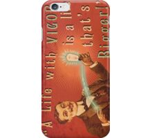 BioShock Infinite – A Life with Vigor is a Life that's Bigger! Poster iPhone Case/Skin