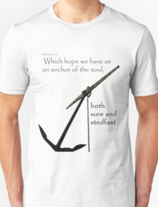 Hebrews 6:19 - whole anchor T-Shirt
