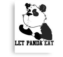 LET PANDA EAT (2) Metal Print