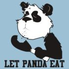 LET PANDA EAT (2) by slugamo