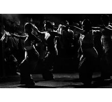 dancing in the dark Photographic Print