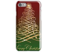 Golden Christmas iPhone Case/Skin