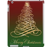 Golden Christmas iPad Case/Skin