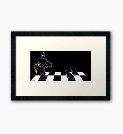 Chess Pain Framed Print