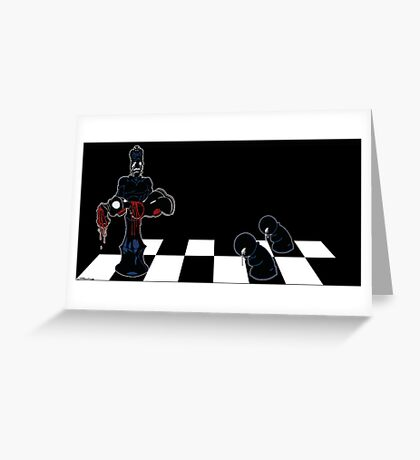 Chess Pain Greeting Card