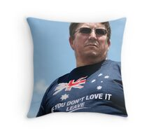 border patrol Throw Pillow