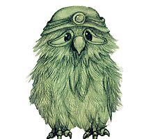 Sad Owl by Sstoodley