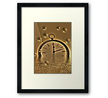 Bubble Time Framed Print