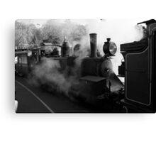 Raising Steam Canvas Print