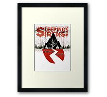Blood Drip SWS Framed Print