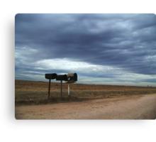 Rural Mailboxes Canvas Print