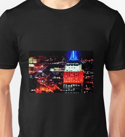 Empire State Building Abstract Unisex T-Shirt