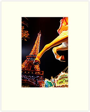Eiffel Carousel by Skip Hunt
