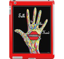Talk to the Hand iPad Case/Skin