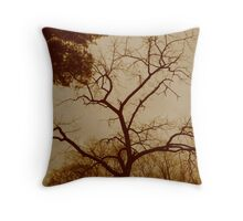 Lungs of the Earth Throw Pillow