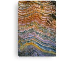 The Art of Rock Folding Canvas Print